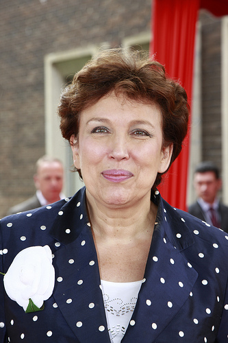 Roselyne Bachelot.  Photo: Flickr.com/MEDEF