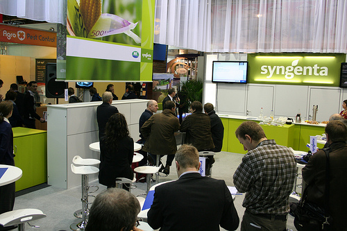 Swiss Company Syngenta Manufactures the Banned Insecticide.  Photo: Flickr.com/agriflanders