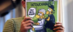 Front page of Charlie Hebdo 