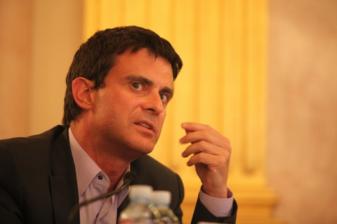 Interior Minister Manuel Valls has demanded firmness in face of the Amiens riots. Photo: flickr.com/fondapol