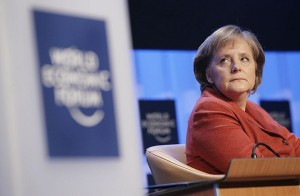 German Chancellor Angela Merkel at the World Economic Forum in 2007. Photo: Flickr.com/worldeconomicforum