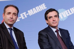 Jean-François Copé and François Fillon.  Photo: Wikimedia Commons/ M.L Nguyen