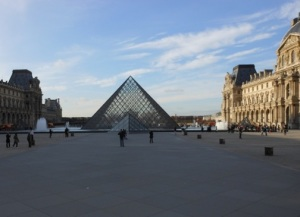 The entrance to the Louvre. Photo: Olga Symeonoglou