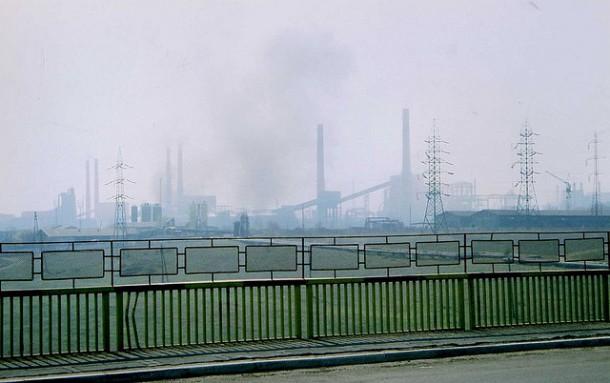 ArcelorMittal blast furances. Photo: Flickr.com/sludgegulper
