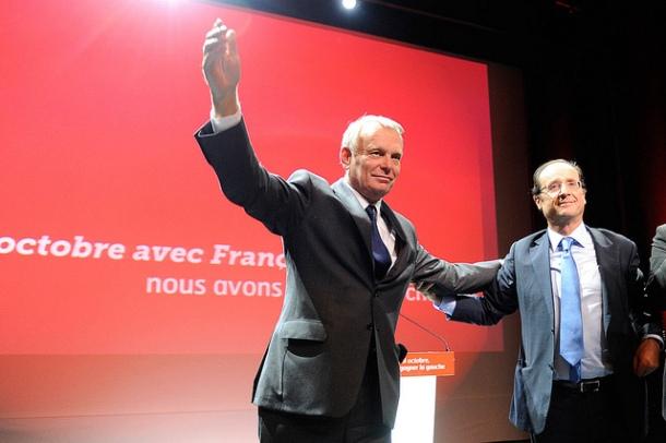 Ayrault and Hollande Photo: Flickr.com/jmayrault