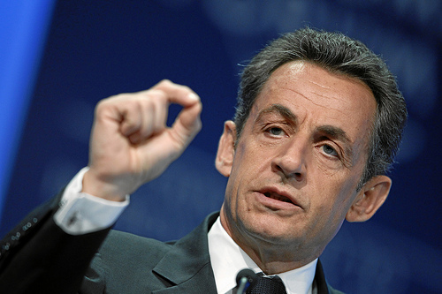 Former French President Nicolas Sarkozy at the World Economic Forum in 2011Photo: World Economic Forum/flickr.com