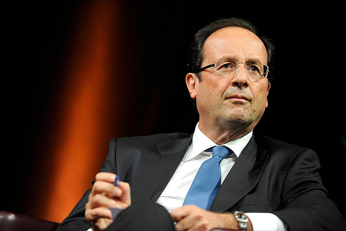 President François Hollande Photo: flickr.com/jmayrault