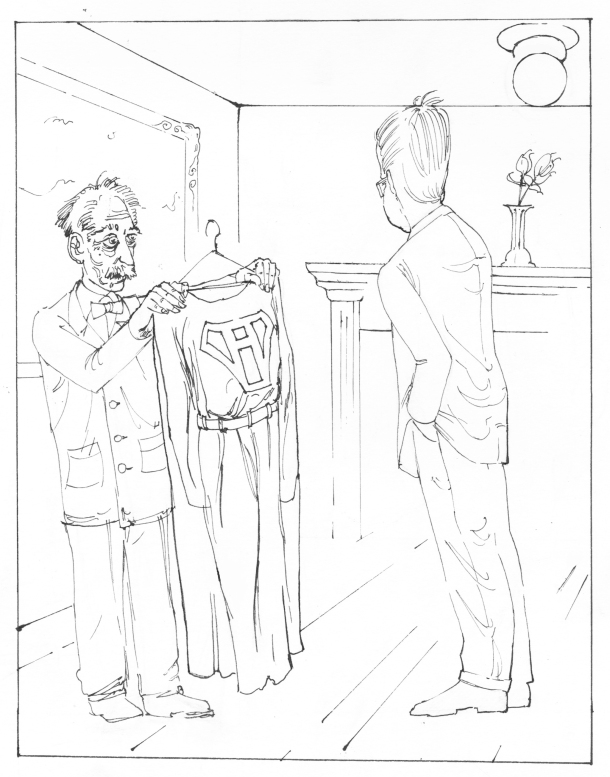 Cartoon by Justin Walker for La Jeune Politique