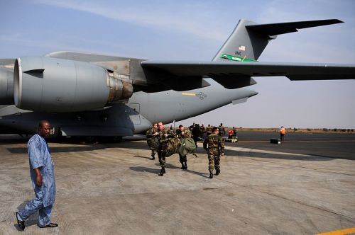 French troops arrive in Mali.Photo: Commons.wikimedia.org/James Richardson