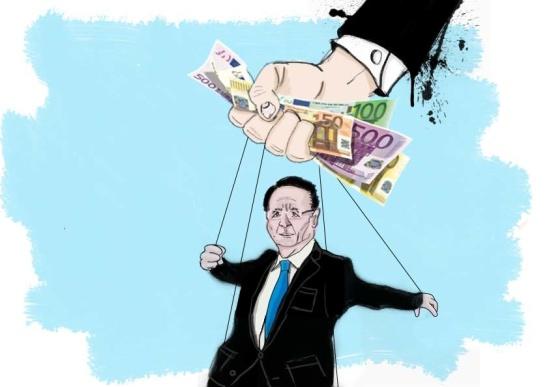Illustration by Peter Ansell for La Jeune Politique.