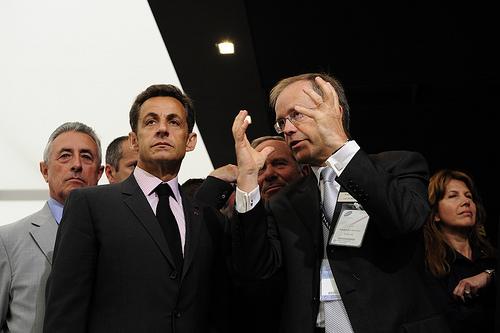 Nicolas SarkozyImage: www.flickr.com/ThalesGroup