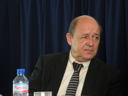 Defense Minister Jean-Yves Le Drian. Photo: Wikimedia Commons/Pymouss