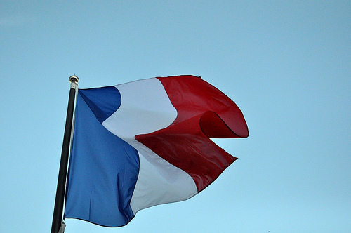 French Flag. Photo: Flickr.com/ Sylvain Naudin