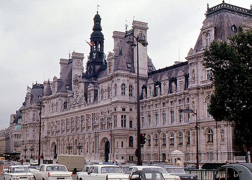 Paris City Hall.Photo: Flickr.com/roger4336