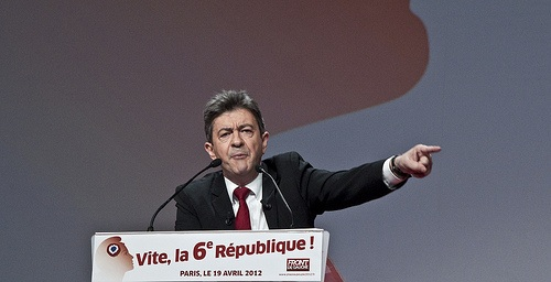Jean-Luc Mélenchon, one of the supporters of the proposed law.Photo by Remi Noyon, courtesy of Creative Commons