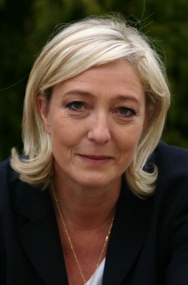 Marine Le Pen. Photo: http://www.commons.wikimedia.org/ Marine_Le_Pen_-_Chess