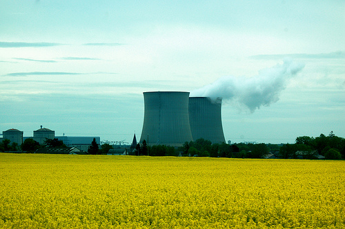 French nuclear power facility outside of Paris. Photo: Gretchen Mahan for flickr