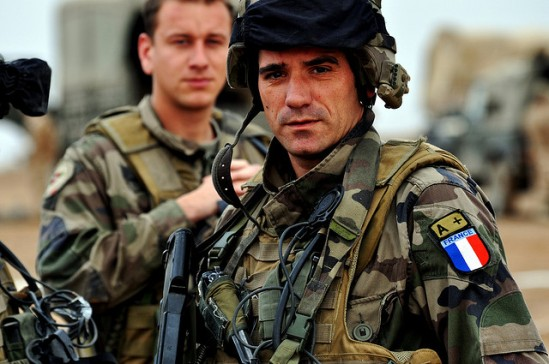 A French soldier in Afghanistan, where all combat troops were removed in 2012.  Photo: Flickr.com/isafmedia