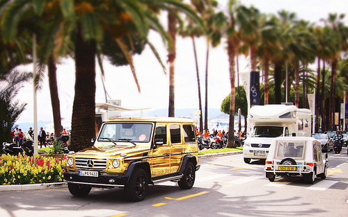 Cannes, France during the Cannes Film Festival, 2012.  Photo: Flickr/Mathieu Lebreton