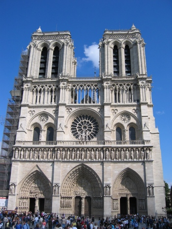Notre Dame Cathedral Photo: Wikimedia Commons/Mschlindwein