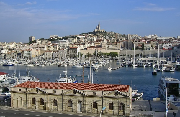 The Old Port of Marseille. Photo: Thomas Rosenau for Wikimedia Commons.