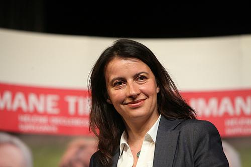 Cécile Duflot Photo: www.flickr.com/photos/partisocialiste