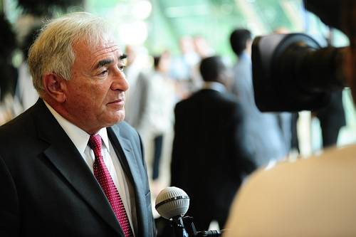 Dominique Strauss-Kahn has been charged with aggravated pimping. Photo: World Trade Organization for flickr.