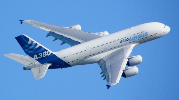 Airbus' New A380 Photo: commons.wikimedia.org/Axwel