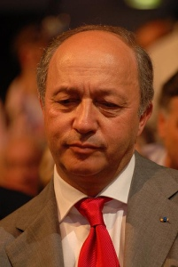 French Foreign Minister Laurent Fabius. Photo: Guillaume Paumier (Flickr)
