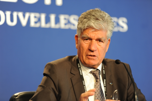 Maurice Lévy, current CEO of Publicis Groupe, will stand down after 30 months as co-CEO of newly formed Publicis-Omnicom Group. Photo: Guillaume Paumier for Wikimedia Commons.
