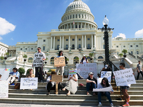 U.S. Government Shutdown Photo: flickr.com/photos/coolrevolution