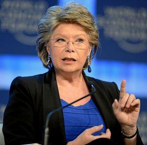 Viviane Reding Photo: commons.wikimedia.org/WorldEconomicForum