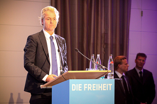 Geert Wilders -  Picture:http://www.flickr.com/photos/mikaelzellmann