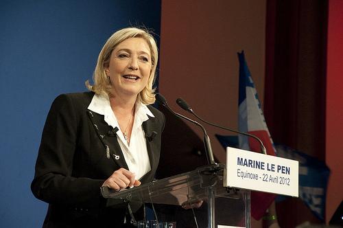 Marine Le Pen Photo: flickr.com/photos/remijdn
