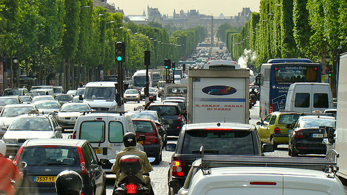 Traffic ground to a halt outside of several major cities on Saturday. Photo: House of Hall for flickr.