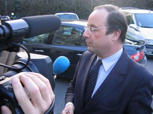 President Hollande has once again landed in hot water after a recent joke about security in Algeria. Photo: Wikimedia Commons