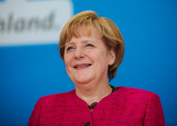 "Chancellor Angela Merkel faces further challenges in securing the second ""grand coalition"" that would ensure her continued governance. Photo: Alexander.kurz for Flickr."
