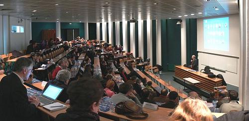 Lecture Hall at the Université of Nantes.  Photo: Flickr/manuel I MC