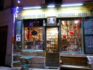 Shakespeare and Company, an independent bookstores in the Latin Quarter. Photo: Olga Symeonoglou for La Jeune Politique