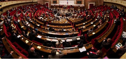 The National Assembly in session. Photo: Richard Ying & Tangui Morlier for Wikimedia Commons.