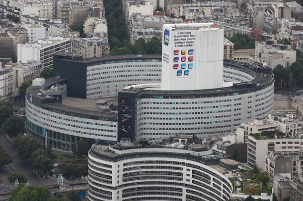The headquarters of Radio France in Paris. Photo: DavidHBolton for flickr.