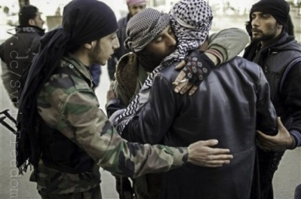 Free Syrian Army fighters, Idlib, North Syria, March 2012. Photo: FreedomHouse for Flickr