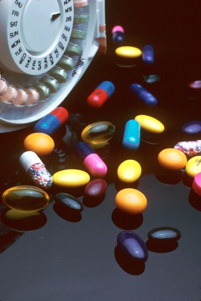 French psychotropic drug use may be excessive. Photo: National Cancer Institute via Wikimedia Commons.