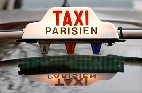 Paris Taxi. Photo: Flickr via Wikimedia Commons, by jean pierre gallot