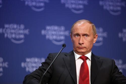 Vladimir Putin. Photo: World Economic Forum on Flickr