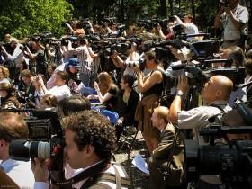 Media in Central Park, New York City.  Photo: Flickr.com/Ernst Moeksis